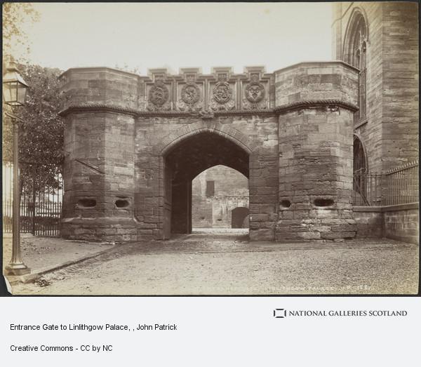John Patrick, Entrance Gate to Linlithgow Palace