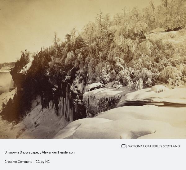 Alexander Henderson, Unknown Snowscape