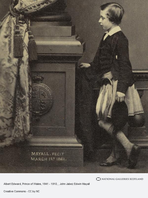 John Jabez Edwin Mayall, Albert Edward, Prince of Wales, 1841 - 1910