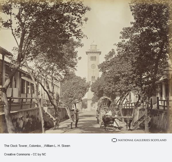 William L.H. Skeen, The Clock Tower, Colombo