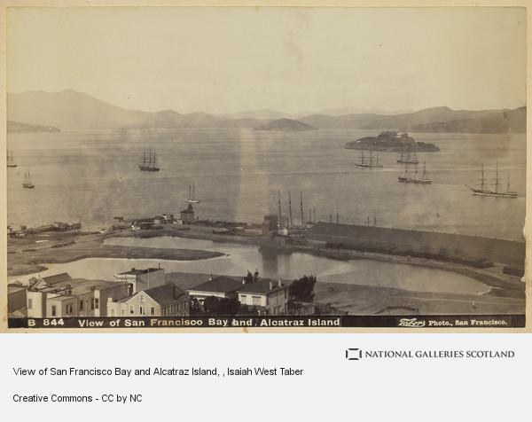 Isaiah West Taber, View of San Francisco Bay and Alcatraz Island