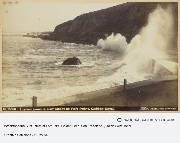 Isaiah West Taber, Instantaneous Surf Effect at Fort Point, Golden Gate, San Francisco