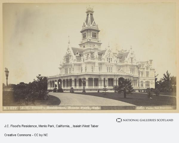 Isaiah West Taber, J.C. Flood's Residence, Menlo Park, California