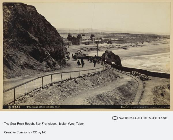 Isaiah West Taber, The Seal Rock Beach, San Francisco