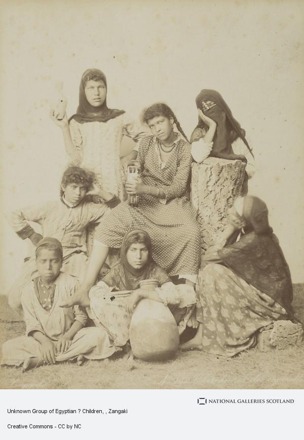 Zangaki, Unknown Group of Egyptian ? Children