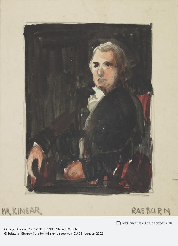 Stanley Cursiter, George Kinnear (1751-1823)