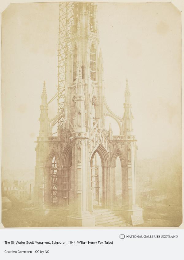 William Henry Fox Talbot, The Sir Walter Scott Monument, Edinburgh