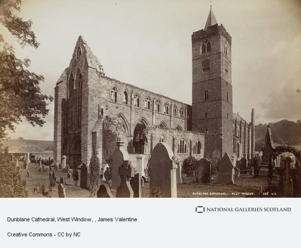 James Valentine, Dunblane Cathedral, West Window