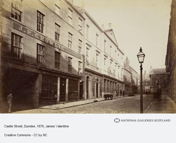 James Valentine, Castle Street, Dundee (About 1876)
