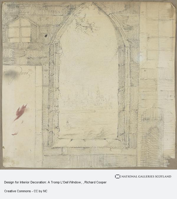 Richard Cooper, Design for Interior Decoration: A Tromp L'Oeil Window
