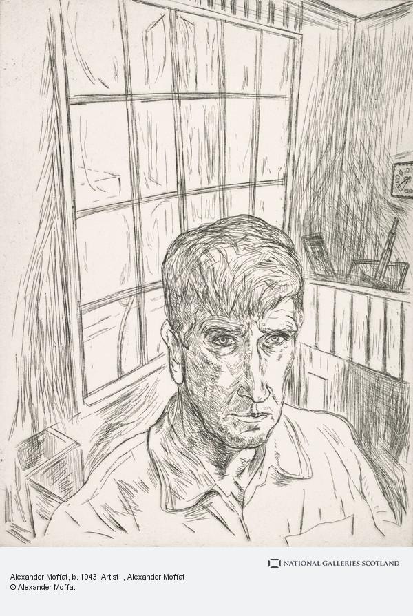 Alexander (Sandy) Moffat, Alexander Moffat, b. 1943. Artist