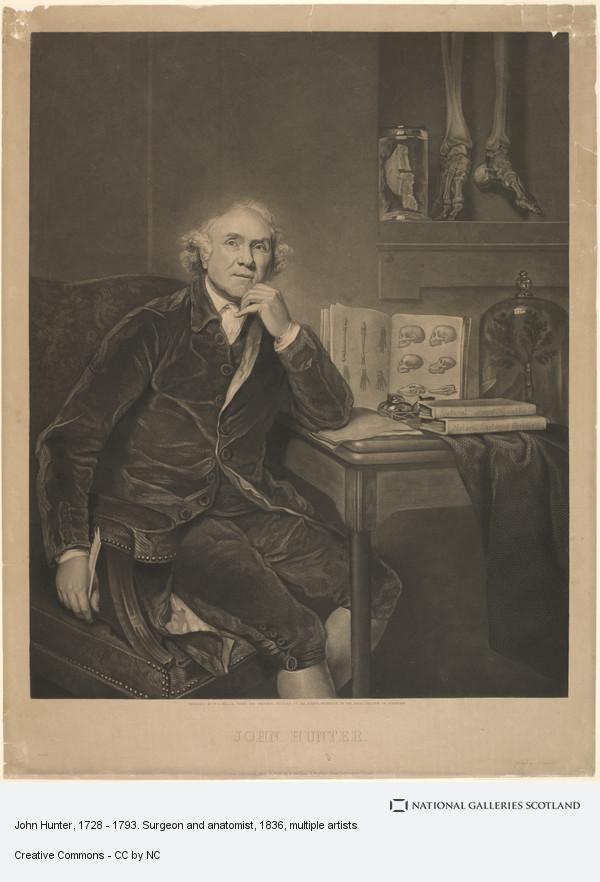 William Overend Geller, John Hunter, 1728 - 1793. Surgeon and anatomist