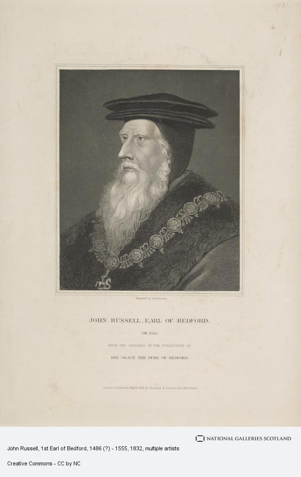 Hans Holbein the Younger, John Russell, 1st Earl of Bedford, 1486 (?) - 1555