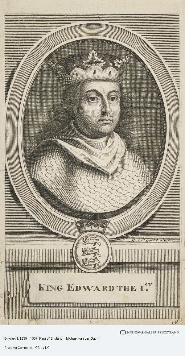 Michael van der Gucht, Edward I, 1239 - 1307. King of England