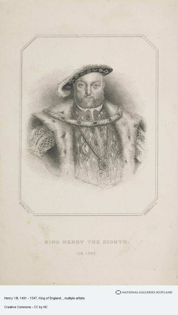Hans Holbein, Henry VIII, 1491 - 1547. King of England