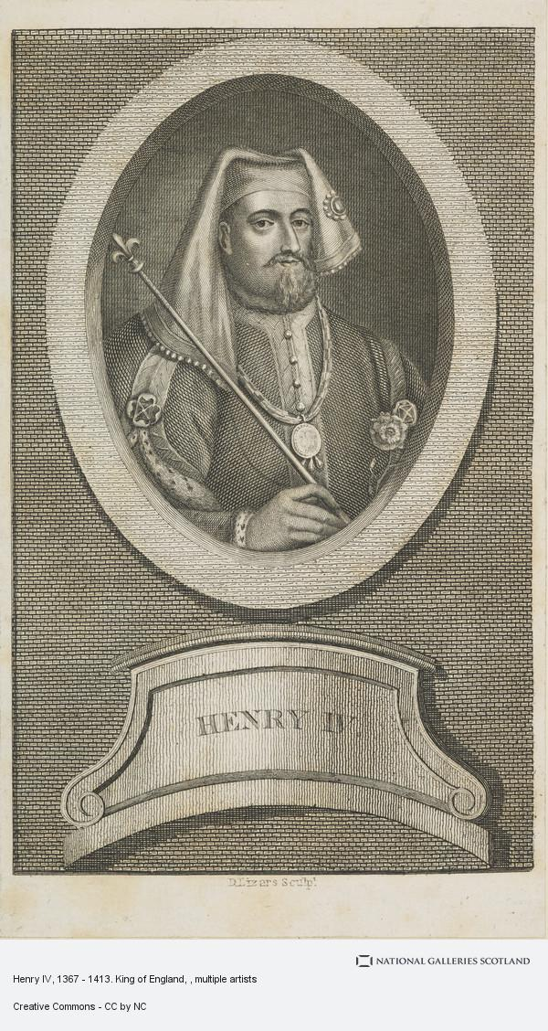 George Vertue, Henry IV, 1367 - 1413. King of England