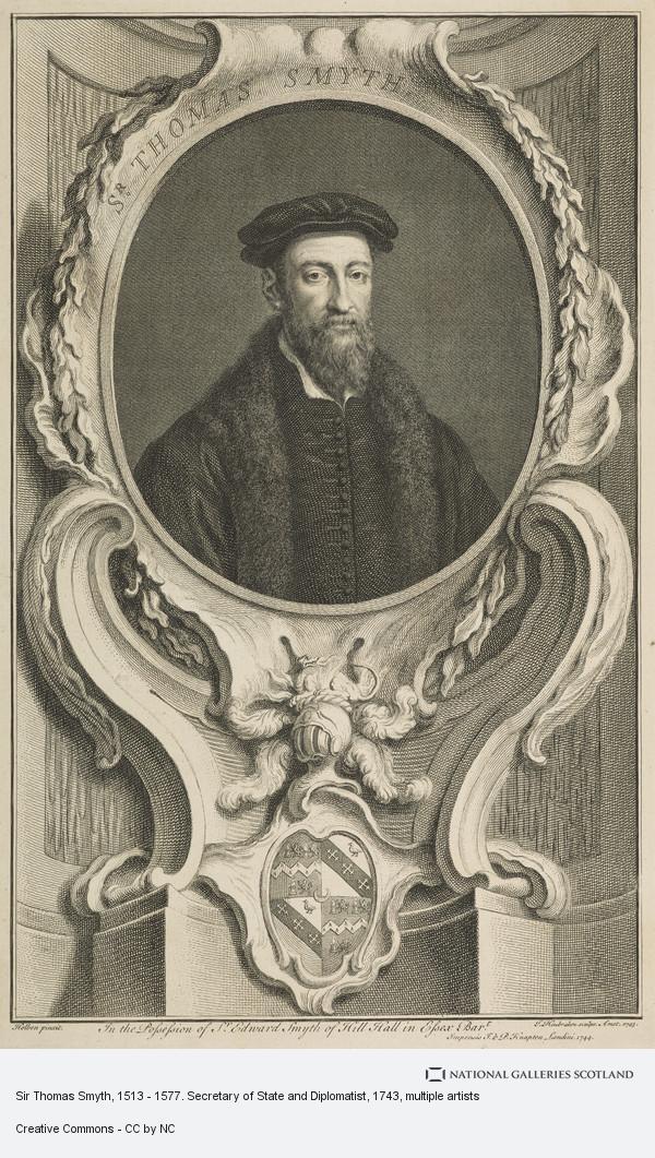 Hans Holbein, Sir Thomas Smyth, 1513 - 1577. Secretary of State and Diplomatist