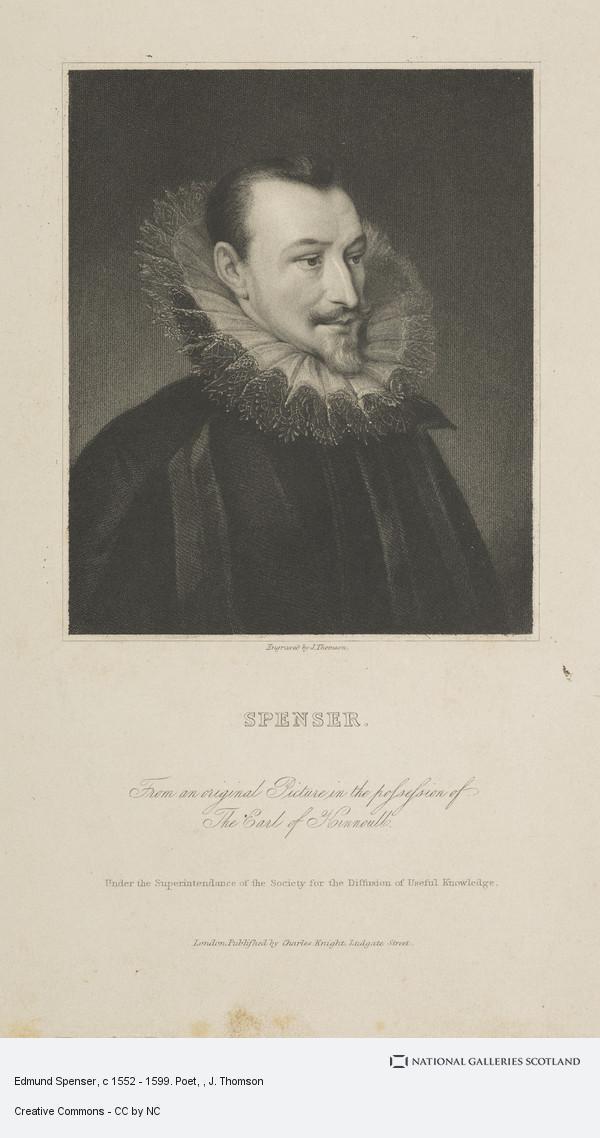 J. Thomson, Edmund Spenser, c 1552 - 1599. Poet