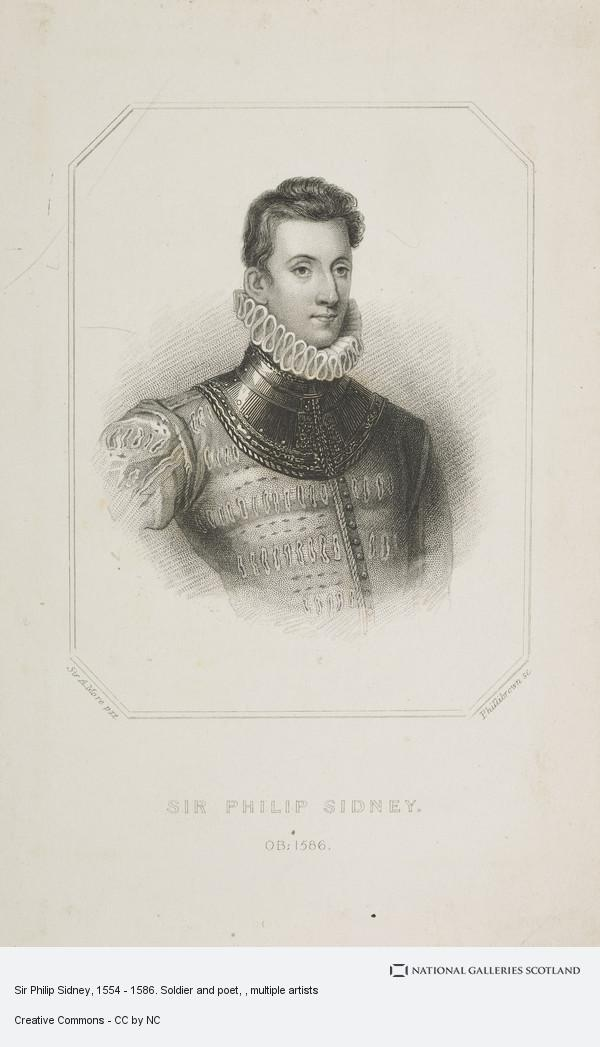 Phillibrown, Sir Philip Sidney, 1554 - 1586. Soldier and poet