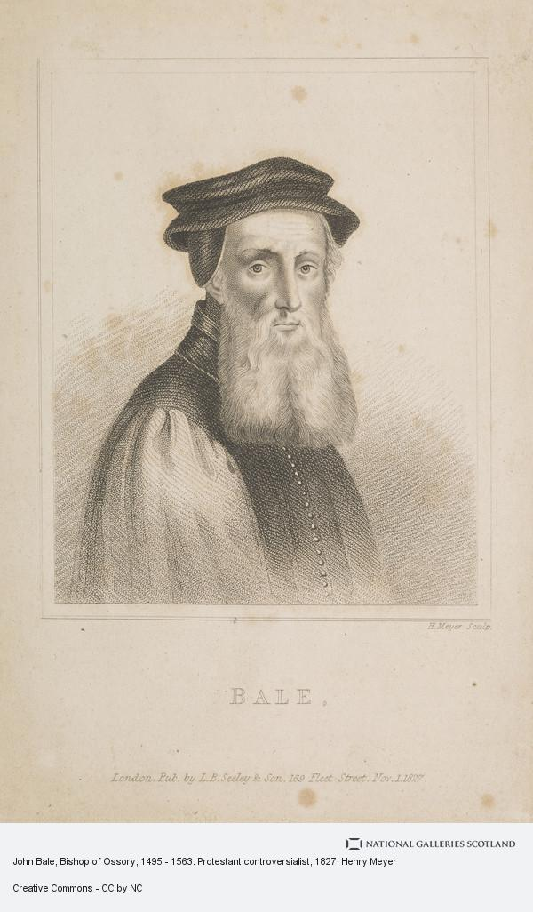 Henry Meyer, John Bale, Bishop of Ossory, 1495 - 1563. Protestant controversialist