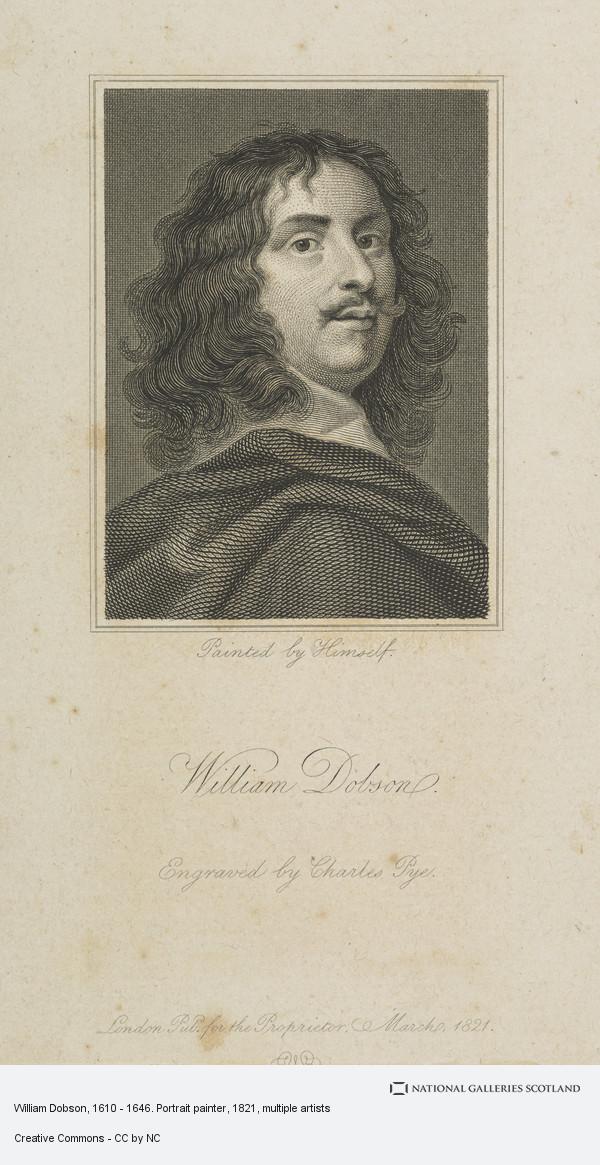 Charles Pye, William Dobson, 1610 - 1646. Portrait painter