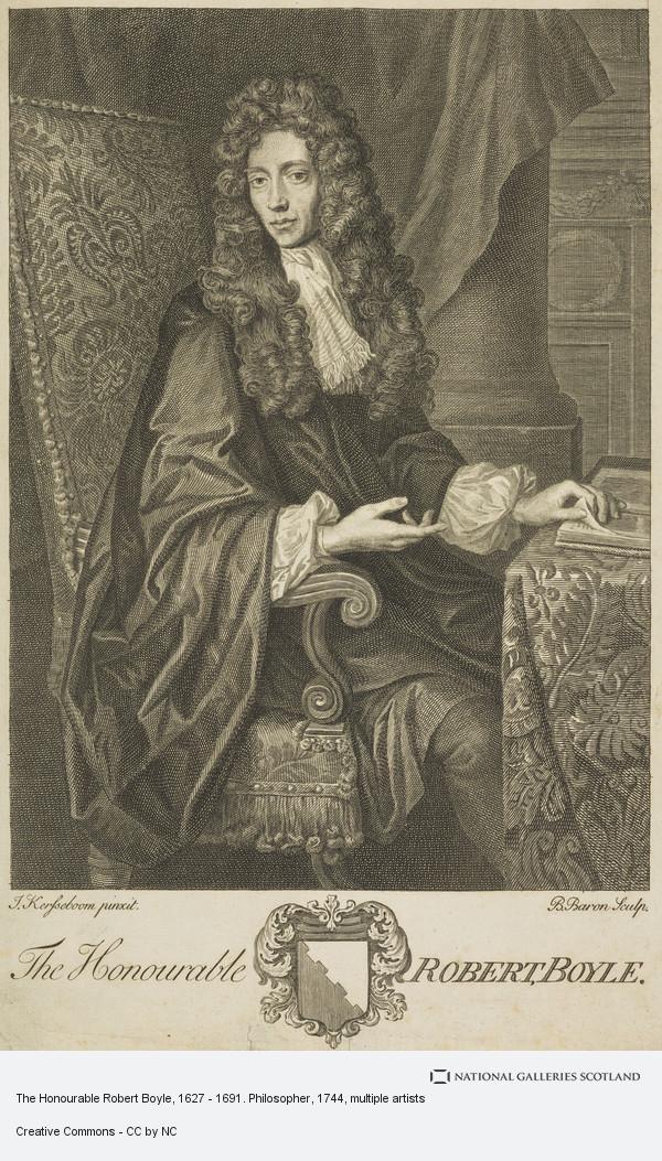 Bernard Baron, The Honourable Robert Boyle, 1627 - 1691. Philosopher