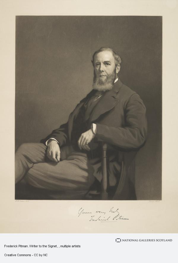James Faed, Frederick Pitman. Writer to the Signet