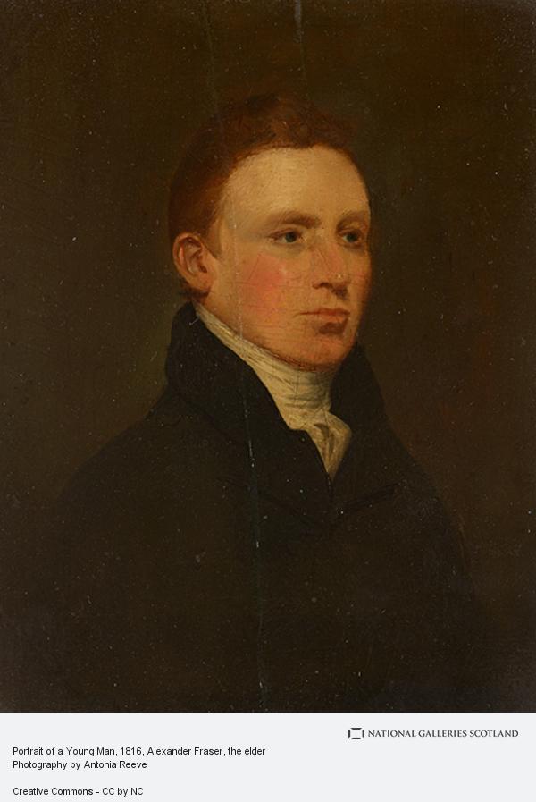 Alexander Fraser, the elder, Portrait of a Young Man