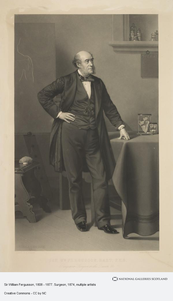 Jean Ferdinand Joubert, Sir William Fergusson, 1808 - 1877. Surgeon