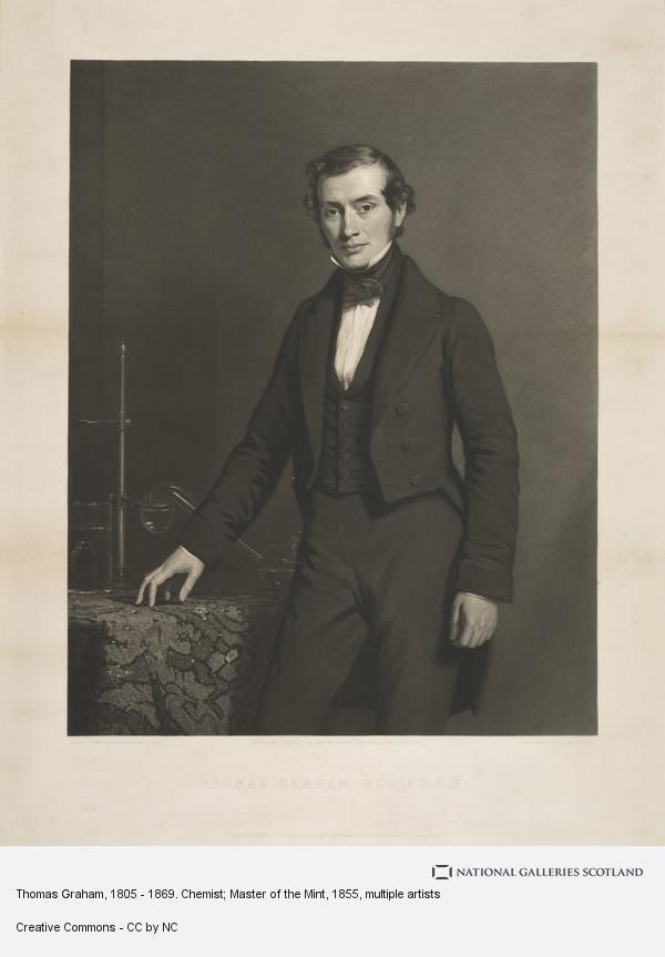 James Faed, Thomas Graham, 1805 - 1869. Chemist; Master of the Mint