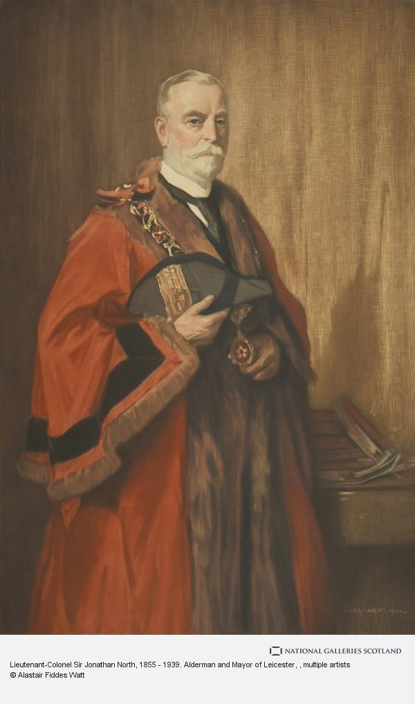 Henry Macbeth Raeburn, Lieutenant-Colonel Sir Jonathan North, 1855 - 1939. Alderman and Mayor of Leicester