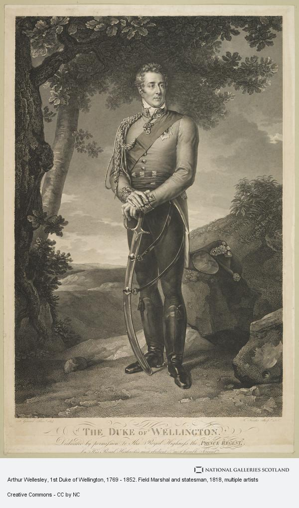 F. Foster, Arthur Wellesley, 1st Duke of Wellington, 1769 - 1852. Field Marshal and statesman