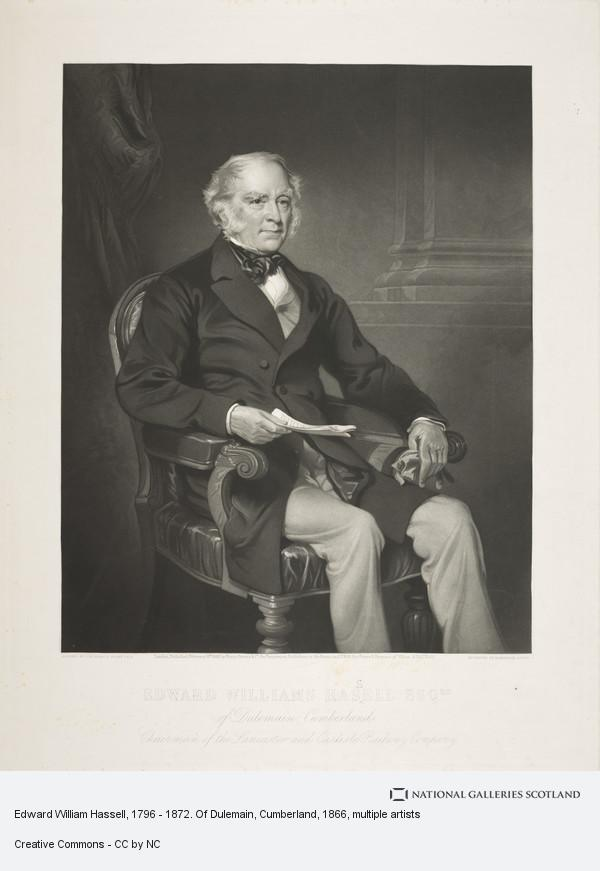 Alexander Scott, Edward William Hassell, 1796 - 1872. Of Dulemain, Cumberland