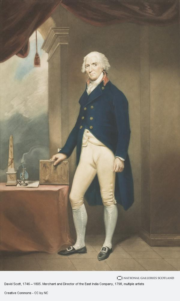 John Young, David Scott, 1746 – 1805. Merchant and Director of the East India Company