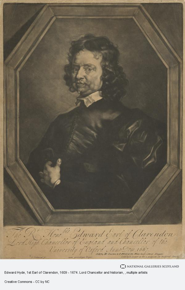 Gerard Soest, Edward Hyde, 1st Earl of Clarendon, 1609 - 1674. Lord Chancellor and historian