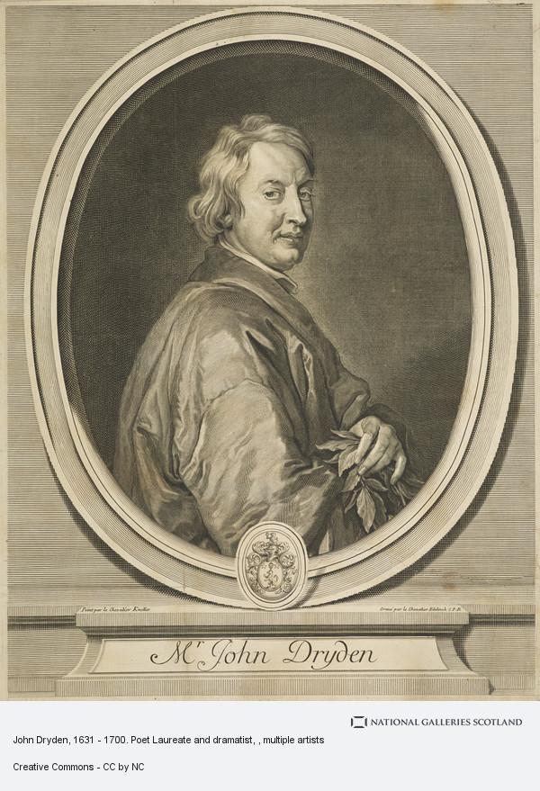 Sir Godfrey Kneller, John Dryden, 1631 - 1700. Poet Laureate and dramatist