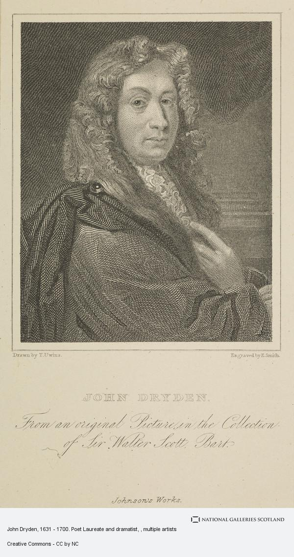 E. Smith, John Dryden, 1631 - 1700. Poet Laureate and dramatist