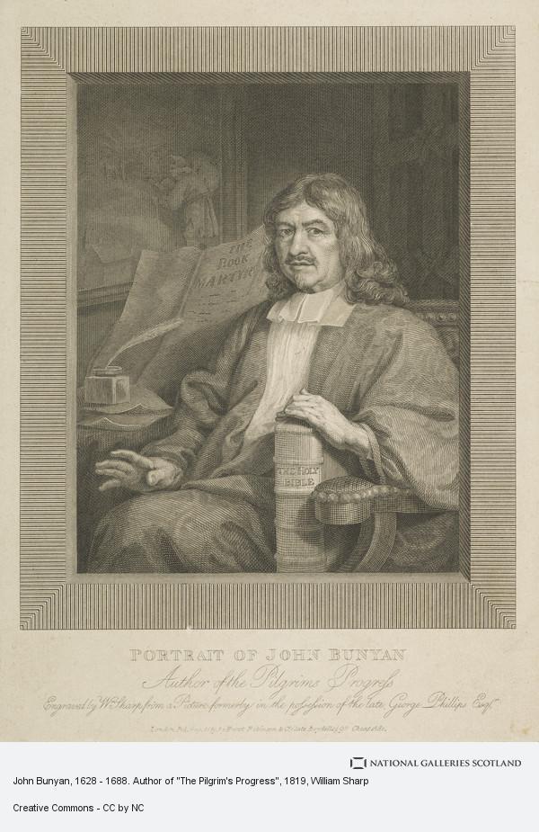 William Sharp, John Bunyan, 1628 - 1688. Author of
