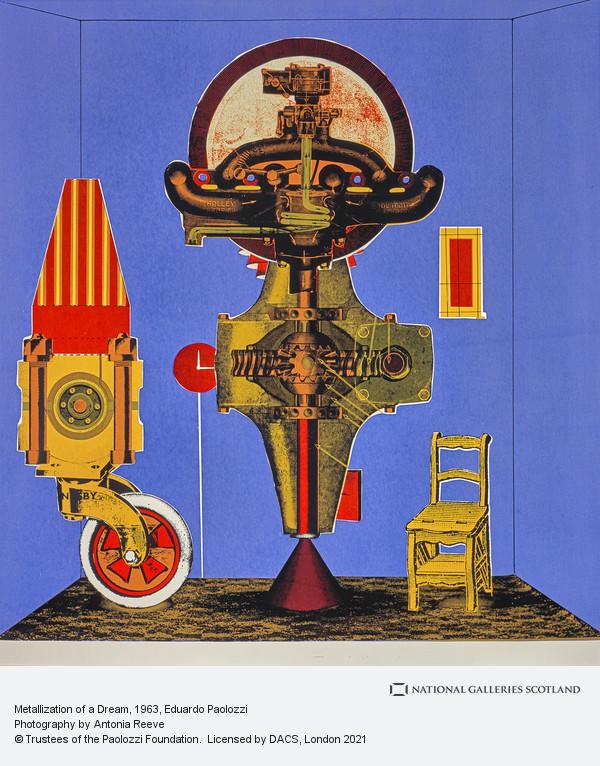 Eduardo Paolozzi, Metalization of a Dream