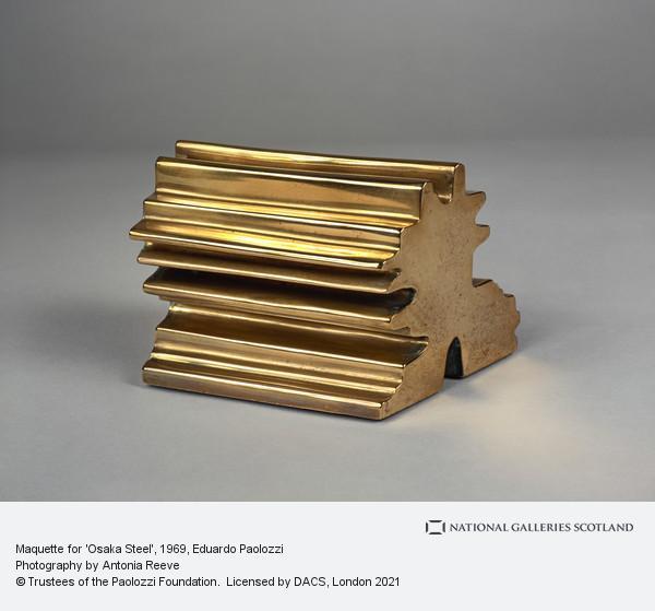 Eduardo Paolozzi, Maquette for 'Osaka Steel'