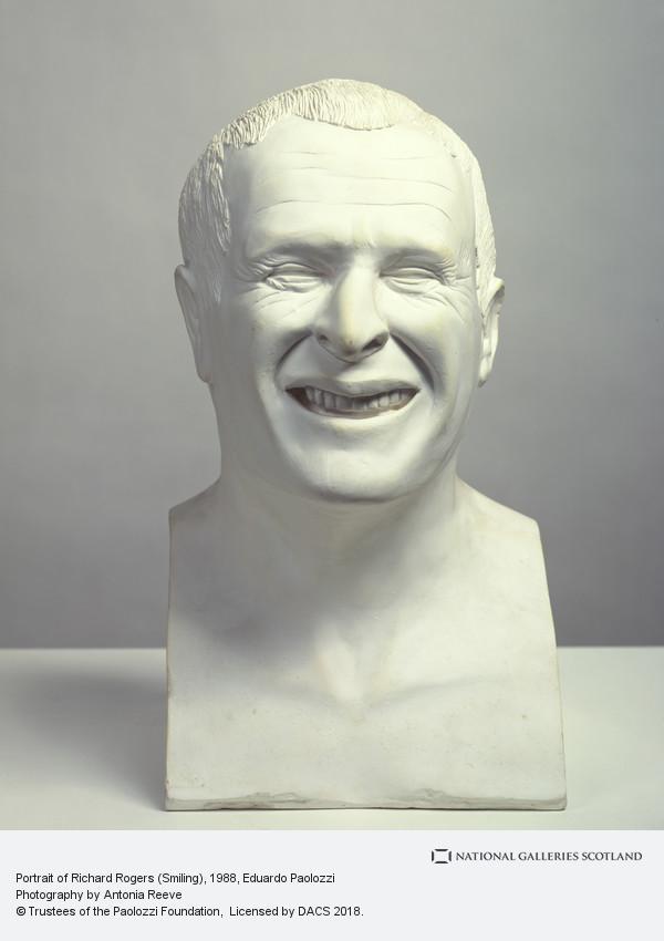 Eduardo Paolozzi, Portrait of Richard Rogers (Smiling)