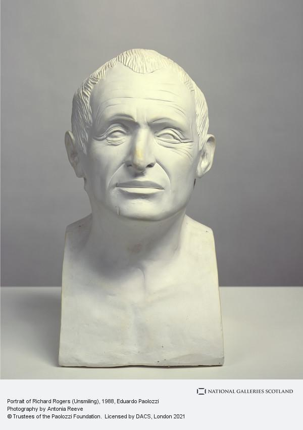 Eduardo Paolozzi, Portrait of Richard Rogers (Unsmiling)