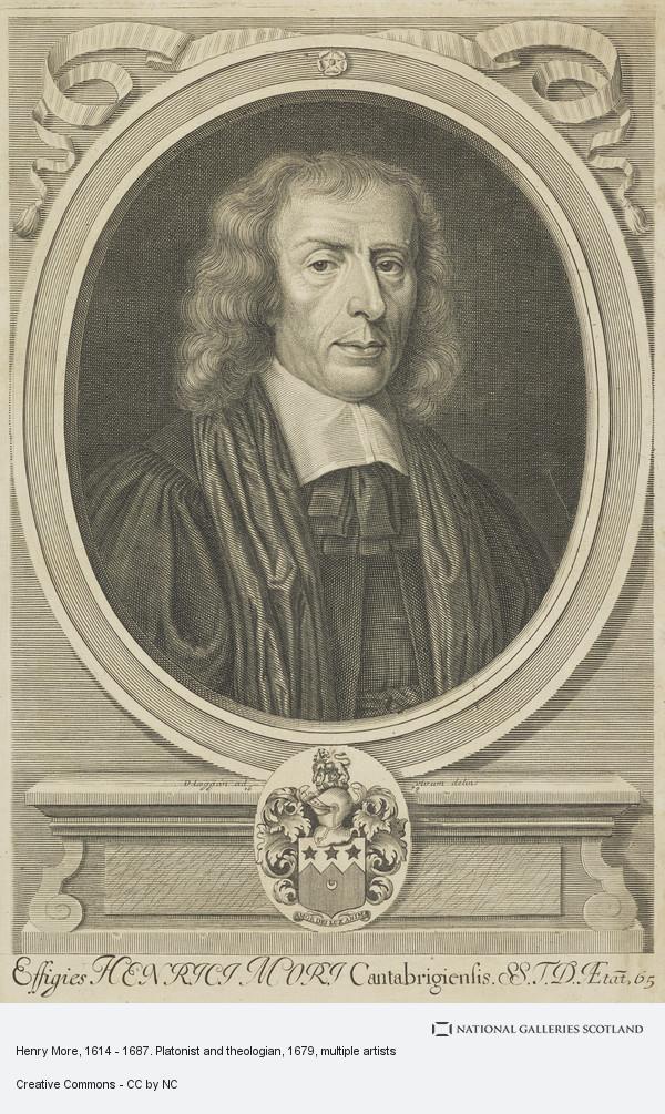 David Loggan, Henry More, 1614 - 1687. Platonist and theologian