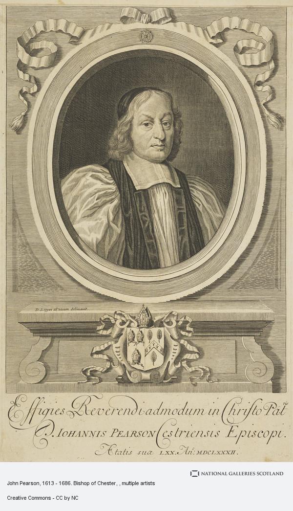 David Loggan, John Pearson, 1613 - 1686. Bishop of Chester