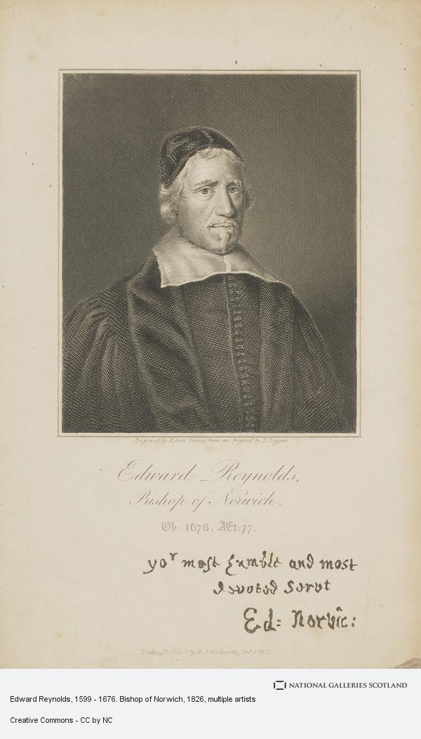 Robert Graves, Edward Reynolds, 1599 - 1676. Bishop of London