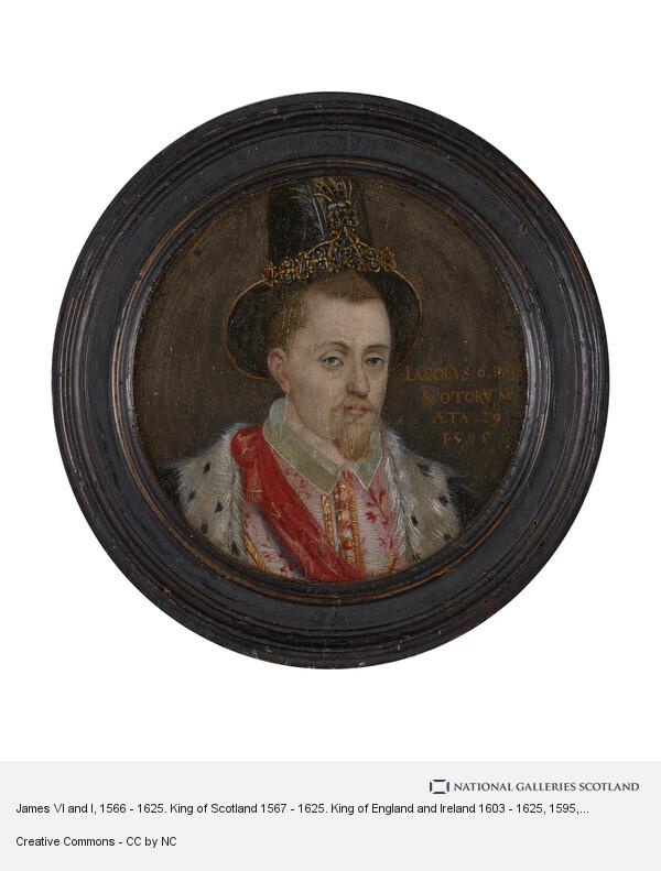 Adrian Vanson, James VI and I, 1566 - 1625. King of Scotland 1567 - 1625. King of England and Ireland 1603 - 1625