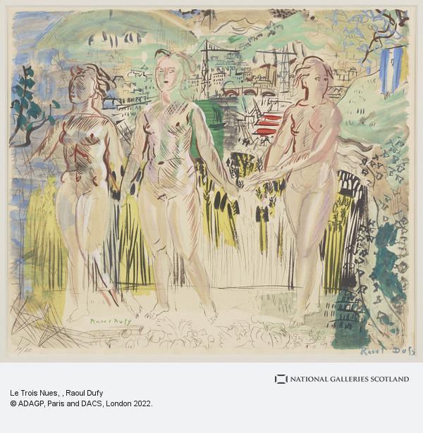 Raoul Dufy, Le Trois Nues
