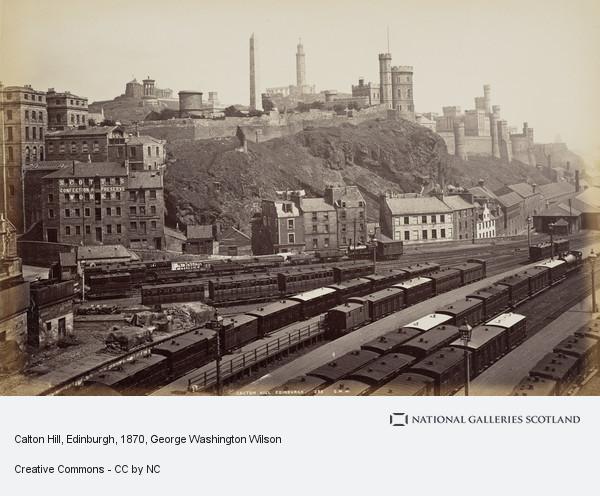 George Washington Wilson, Calton Hill, Edinburgh