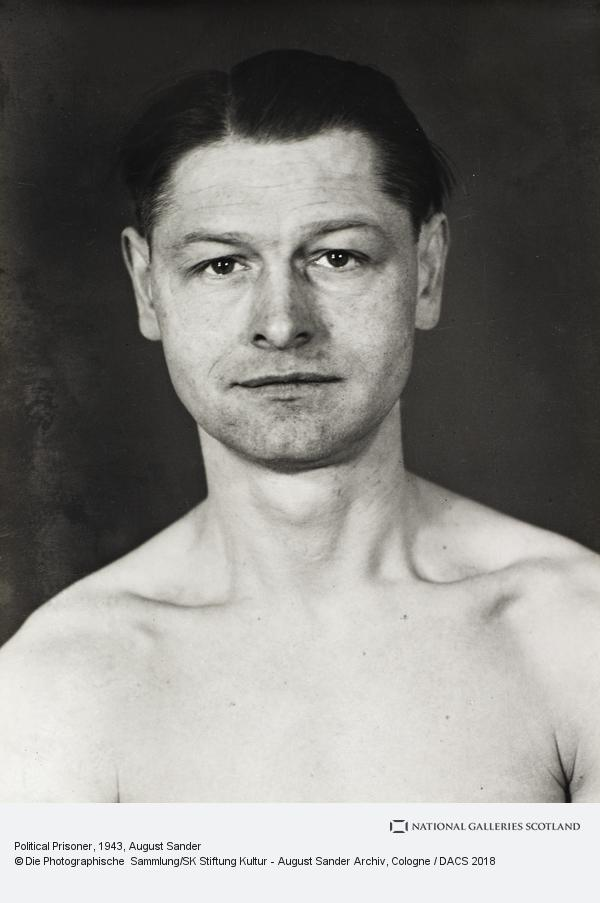 August Sander, Political Prisoner [Friedrich Loot], 1943 (1943)