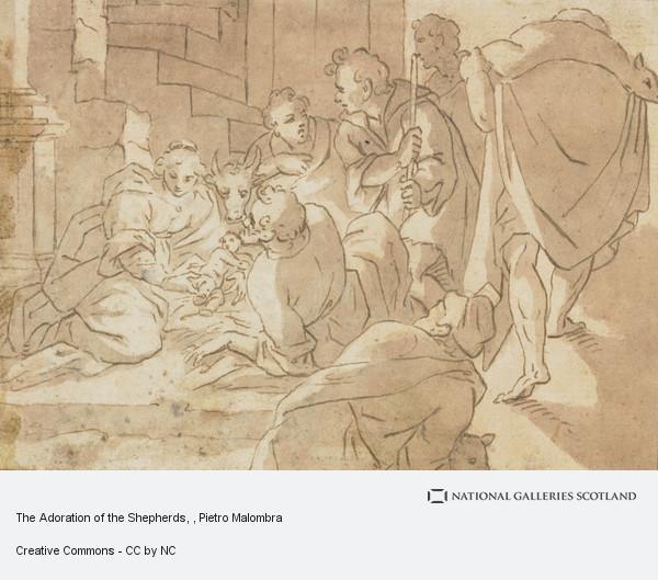 Pietro Malombra, The Adoration of the Shepherds